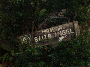 Angel Falls Sign