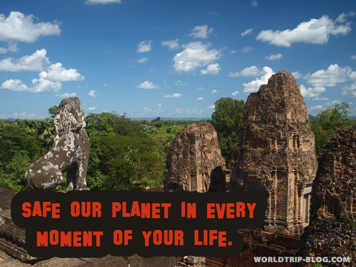Safe our planet worldtrip-blog.com